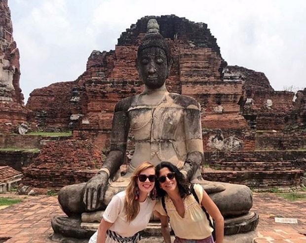 Mariana Ximenes e Marina Person (Foto: Reprodução Instagram)