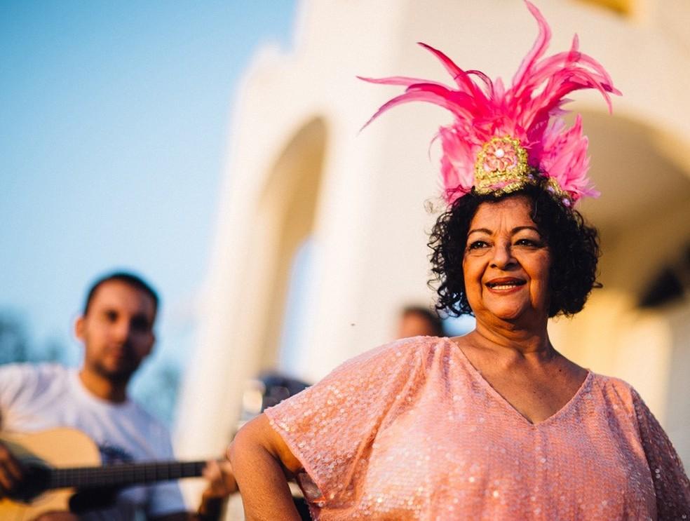 Dodora Cardoso é uma das atrações do bloco 'Ômi, tenha calma!' — Foto: Divulgação