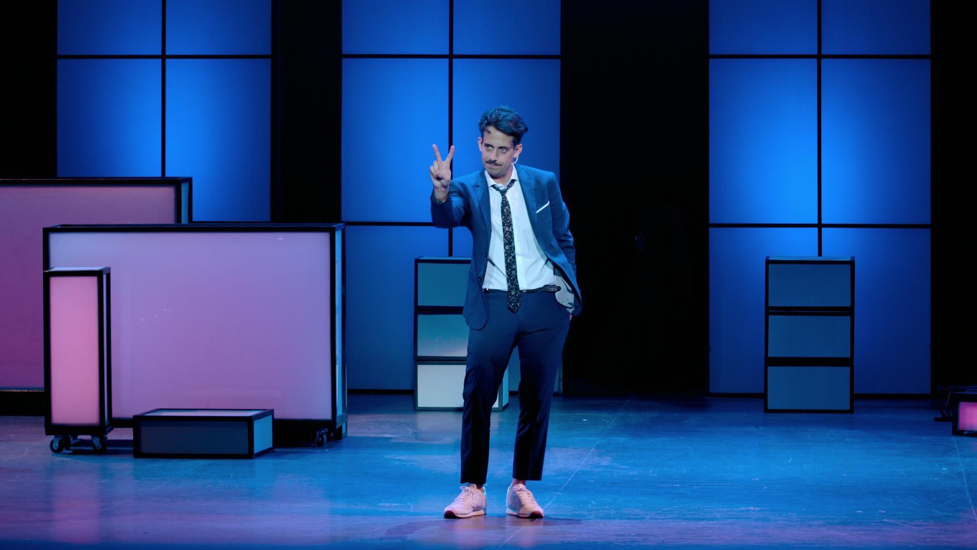 El comediante Augustine Ariston presenta su posición (Foto: Apocalipsis)