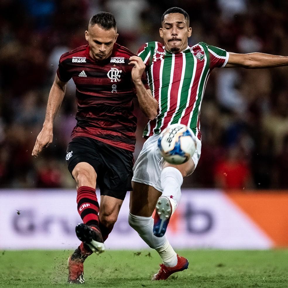 Novos gestores do Maracanã, Flamengo e Fluminense se enfrentam neste sábado — Foto: Jorge R Jorge/BP Filmes