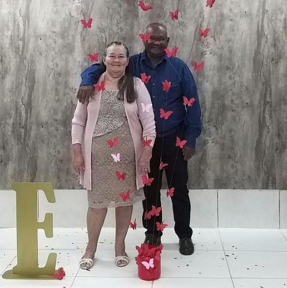 Antônio Ferreira Nunes, de 67 anos, e Francisca Leite Nunes, de 65 anos — Foto: Arquivo pessoal