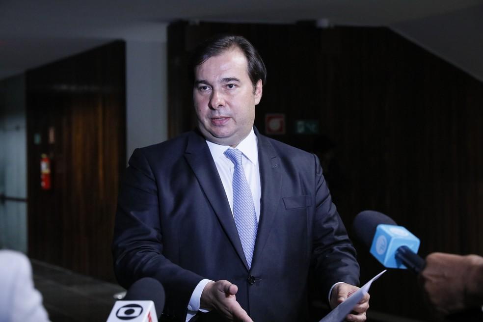 Rodrigo Maia (DEM-RJ), presidente da Câmara dos Deputados — Foto: Luis Macedo/Câmara dos Deputados