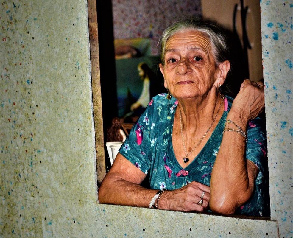Dona Izabel morreu aos 83 anos e era uma das moradoras mais antigas da comunidade — Foto: Lucas Felipe/Arquivo Pessoal