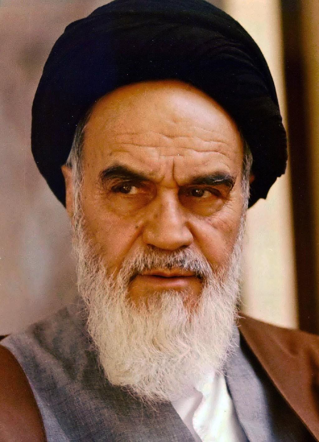 Aiatolá Ruhollah Khomeini (Foto: Wikimedia Commons)