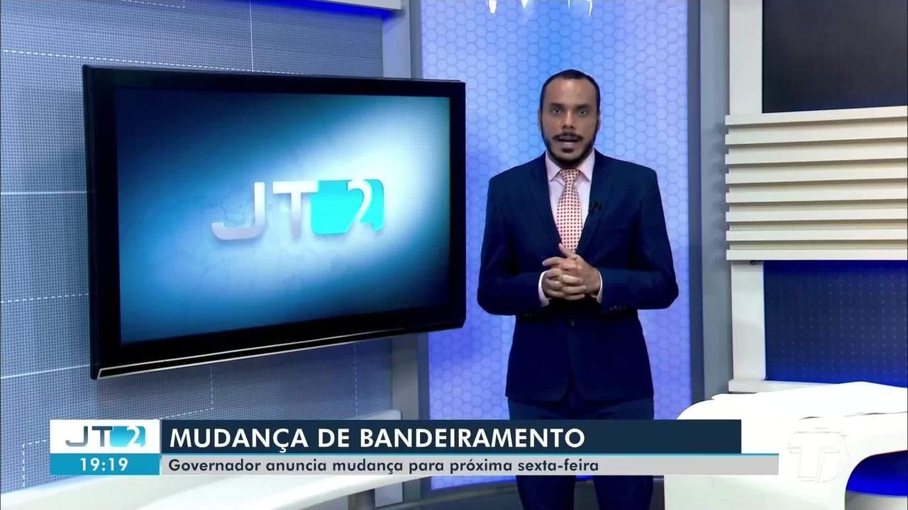 Governador o PA Helder Barbalho, anuncia mudança de bandeiramento para região oeste