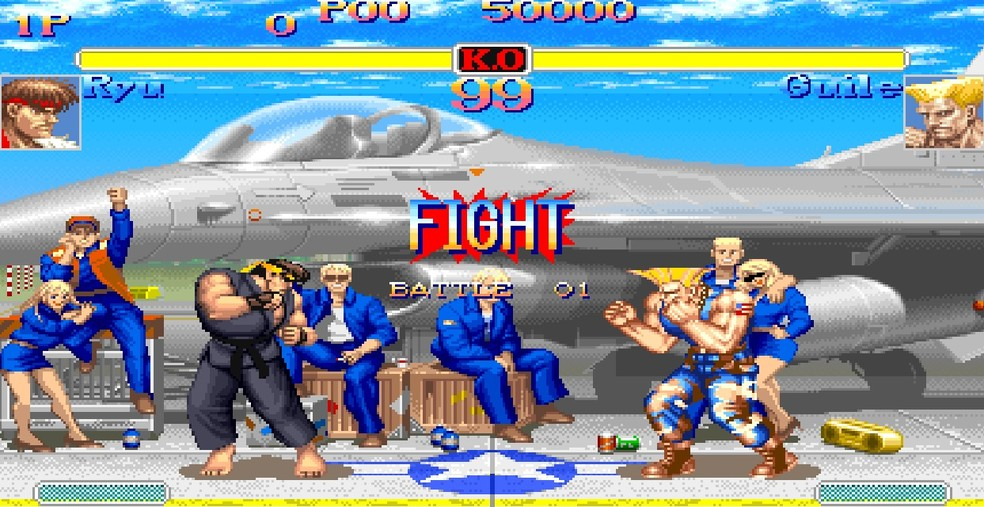 Street Fighter II foi um grande sucesso para os fãs de competições — Foto: Reprodução/Victor de Abreu