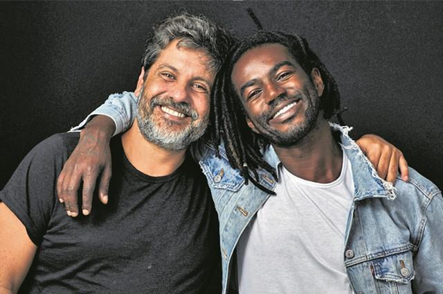 Pedro Vasconcelos e Jonathan Azevedo (Foto: Elvis Moreira)