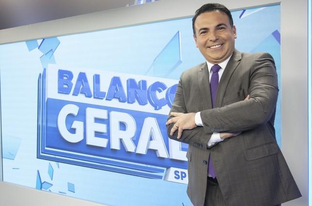 Reinaldo Gottino apresenta o 'Balanço geral SP' (Foto: Divulgação)