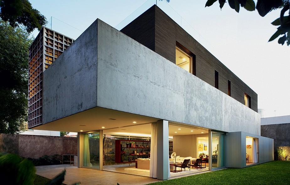 Fachadas casa e jardim ambientes for Fachadas casas unifamiliares