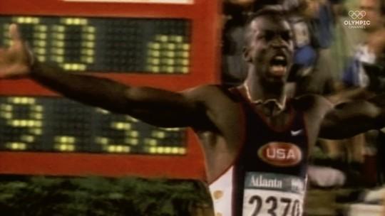Manobra no calendário, sapatilha dourada e recordes: como Michael Johnson fez história em Atlanta 96