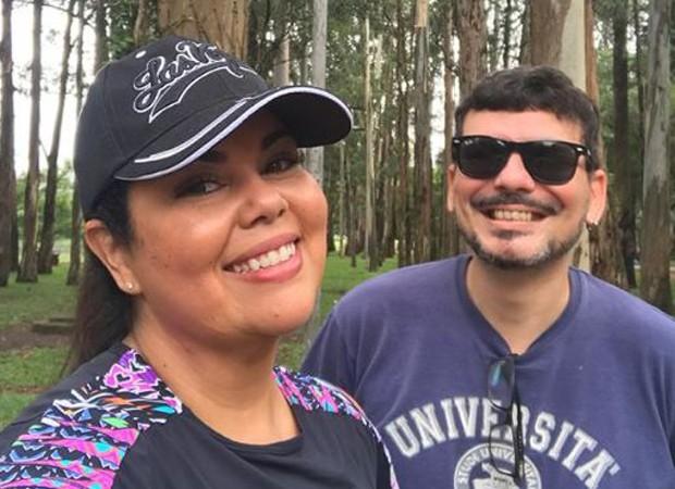 Fabiana Karla e Chico Amorim (Foto: Reprodução/Instagram)