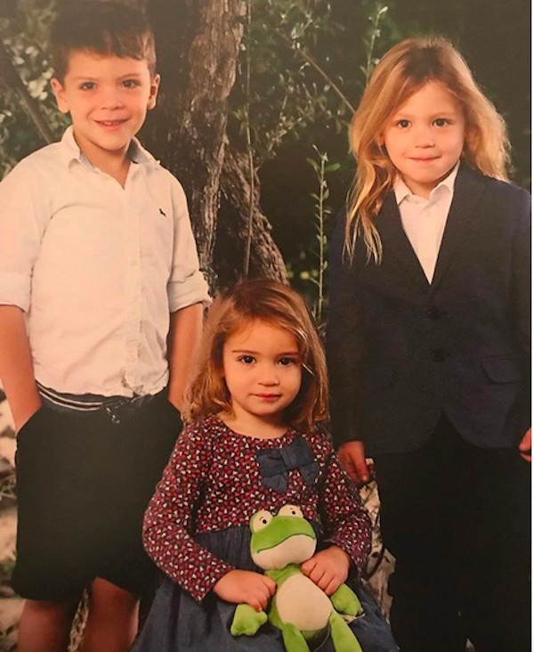Os três filhos do ator Jon Bernthal (Foto: Instagram)