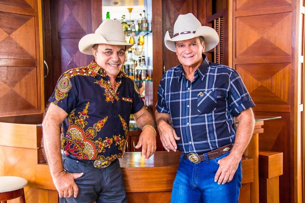 Gino e Geno em nova formação — Foto: Divulgação