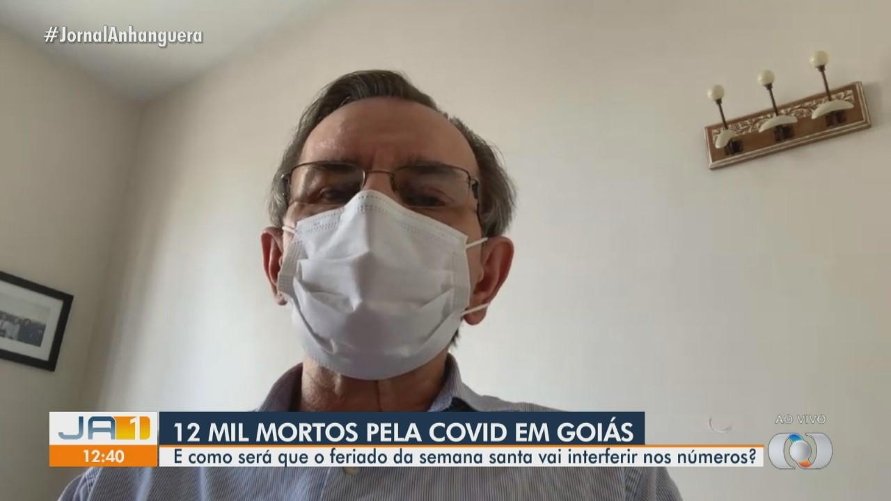 Infectologista comenta número de mortes por Covid-19 em Goiás