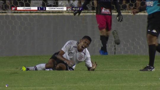 Fessin inicia trabalhos de fisioterapia no Corinthians