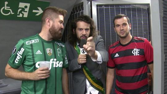 Debate, fake news e jogadores-ministros: Flamengo x Palmeiras pelo presidente Cartolouco