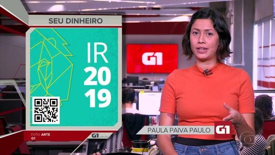 G1 em 1 Minuto: Receita Federal abre consultas ao 5º lote do IR 2019 nesta terça-feira