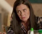 Adriana Esteves, a Thelma de 'Amor de mãe' | Reprodução