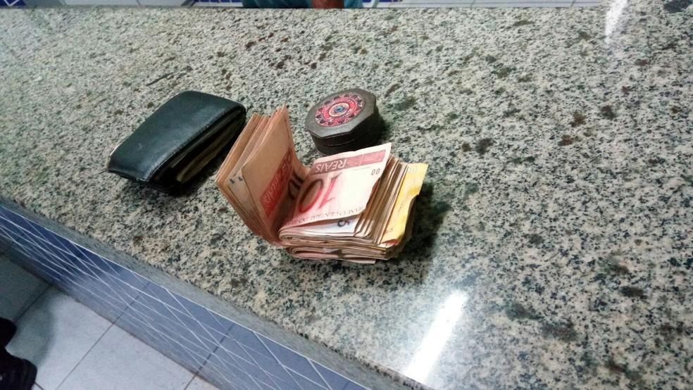 Quadrilha é suspeita de distribuir dinheiro falso em Parnaíba (Foto: Divulgação/Polícia Militar do Piauí)