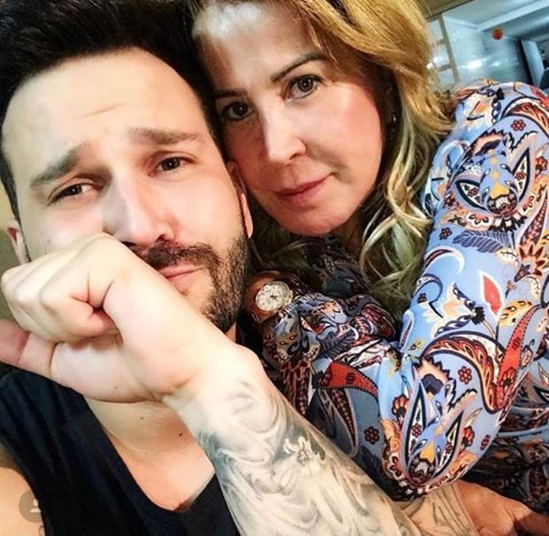 Zilu e o namorado, Marco Ruggiero (Foto: Reprodução/Instagram)