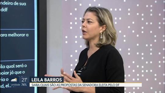 Senadora eleita, Leila do Vôlei promete enfrentar guerra fiscal de Goiás para defender DF