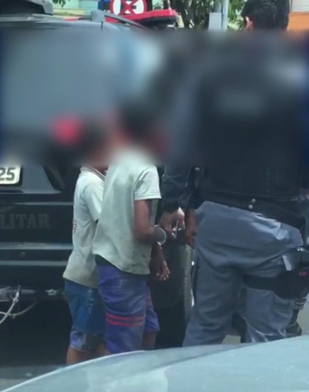 Crianças de 9 e 10 anos não poderiam ser levadas para delegacia, segundo o Conselho Tutelar — Foto: Reprodução/TV Mirante