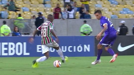 Fluminense x Defensor - Copa Sul-Americana 2018 - globoesporte.com