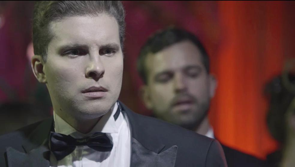 Patrick e Gael ficam surpresos com a cena (Foto: TV Globo)
