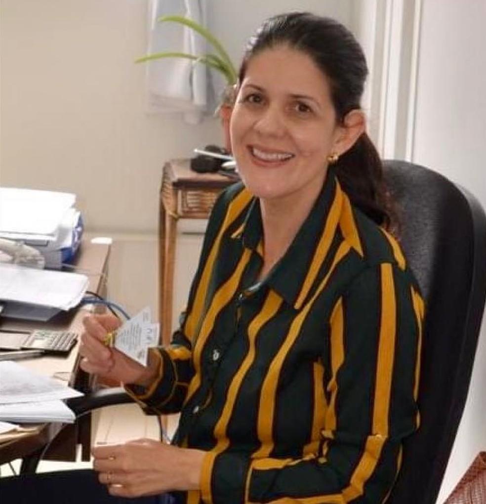 Luciana - Professora UVF - Rio Paranaíba — Foto: Facebook/reprodução