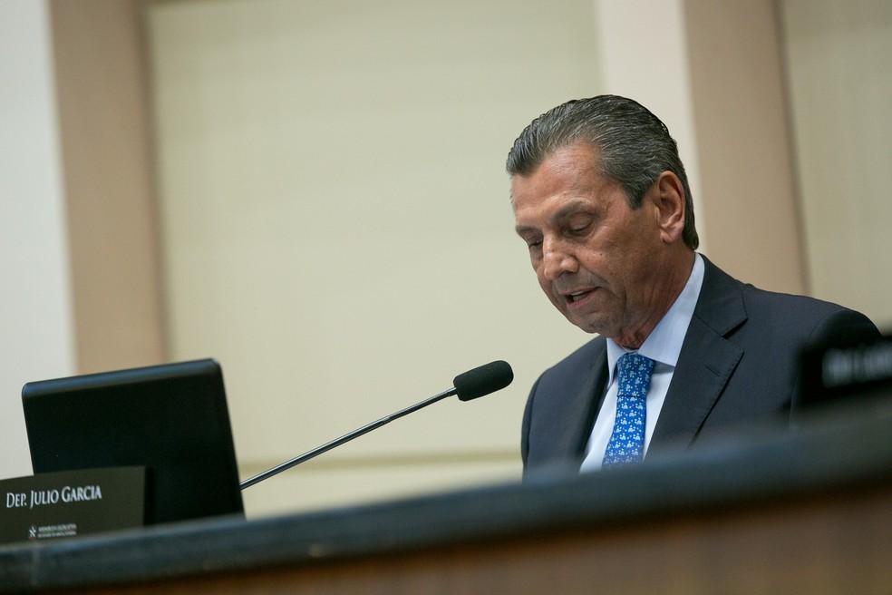 Deputado Júlio Garcia — Foto: Rodolfo Espínola/Agência AL/Divulgação