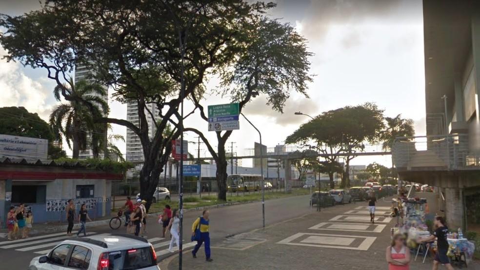 Avenida Bernardo Vieira, em Natal — Foto: Google Street View