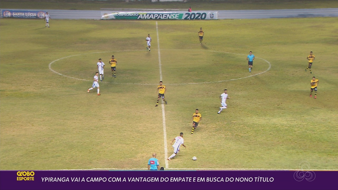 Ypiranga e Santana prontos para final do Amapazão com presença de torcedores no Zerão