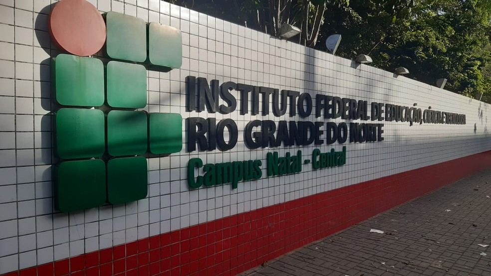 IFRN - Instituto Federal do Rio Grande do Norte  — Foto: Sérgio Henrique Santos/Inter TV Cabugi