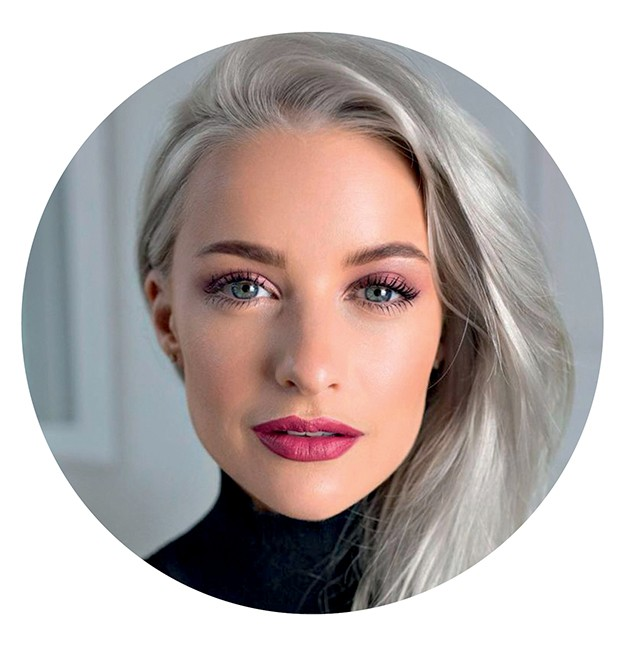 Victoria Magrath, 28 anos, influencer @inthefrow (Foto: .)