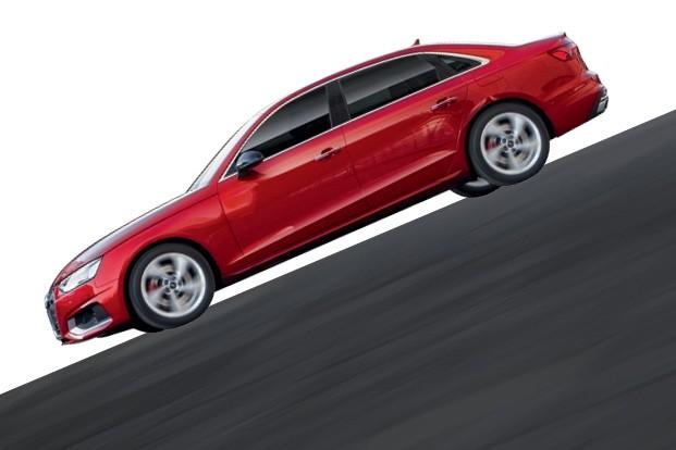 """Audi A4 - A """"banguela"""" dos  veículos modernos é  feita com o máximo de segurança (Foto: Divulgação)"""