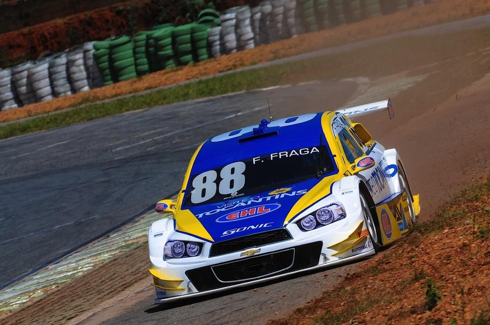 Felipe Fraga no autódromo Nelson Piquet, em Brasília, em imagem de 2014 (Foto: Duda Bairros/Vicar)