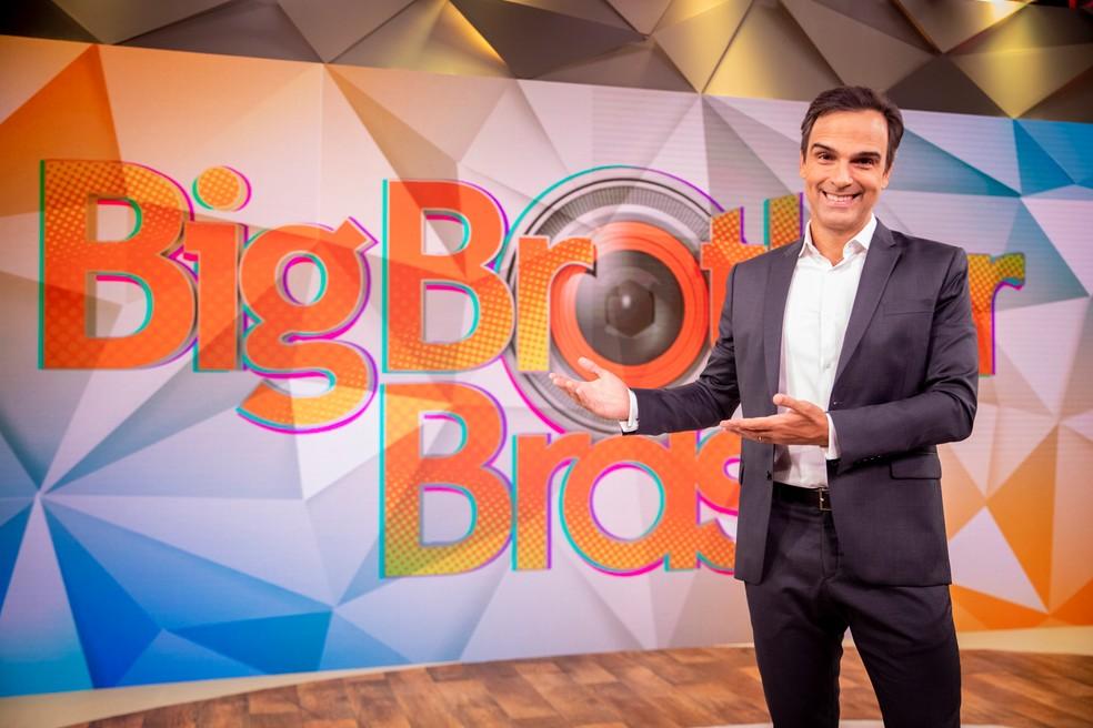 Tadeu Schmidt é o novo apresentador do BBB — Foto: Globo/João Cotta