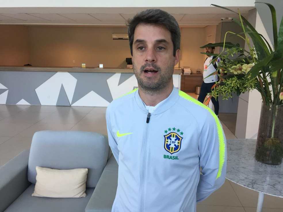 Freeland já trabalhou no Botafogo e estava no Flamengo — Foto: Raphael Zarko
