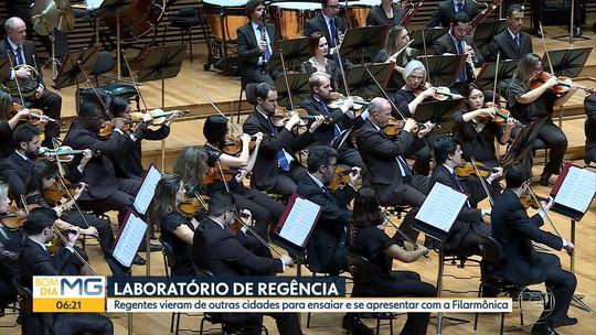 Jovens maestros têm experiência com a Orquestra Filarmônica de Minas Gerais