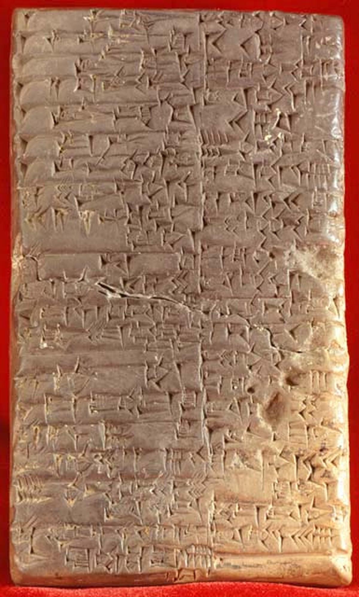 A necessidade econômica que levou ao desenvolvimento da primeira forma de escrita