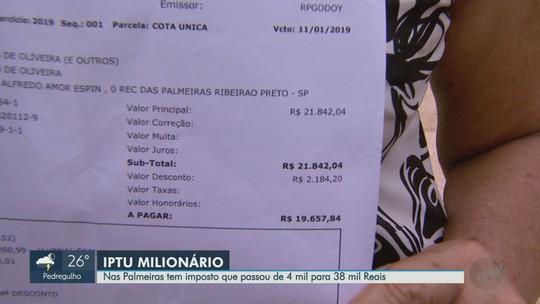 Morador recebe IPTU 16 vezes mais caro após mudança em tributação em Ribeirão Preto