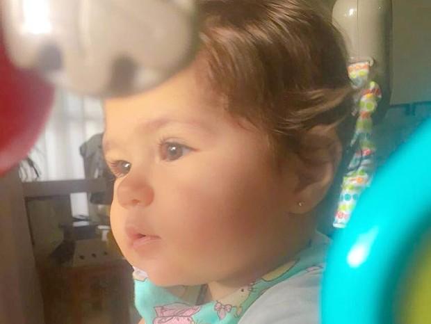 Maria Vitória, filha mais nova de Pedro Leonardo (Foto: Reprodução/Instagram)