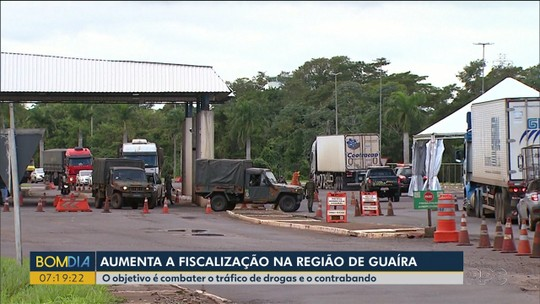 Aumenta a fiscalização na região de Guaíra