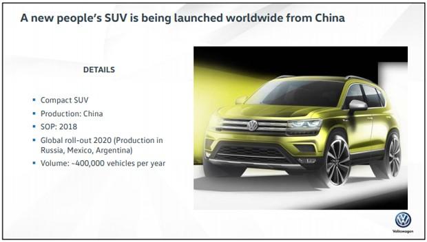 Apresentação adianta futuro Volkswagen Tarek (Foto: Reprodução)