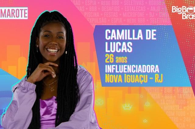 Camilla de Lucas (Foto: Reprodução)