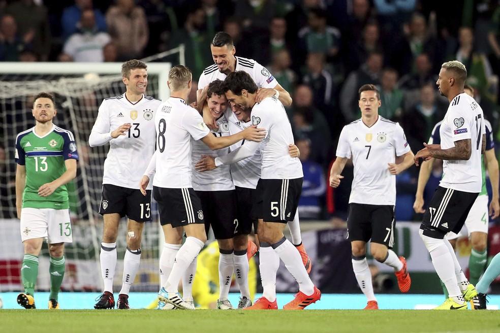 Atual campeã, a Alemanha será acompanhada pelos analistas do São Paulo (Foto: AP )