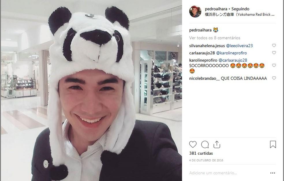 Tenente Aihara em viagem pelo Japão. — Foto: Instagram