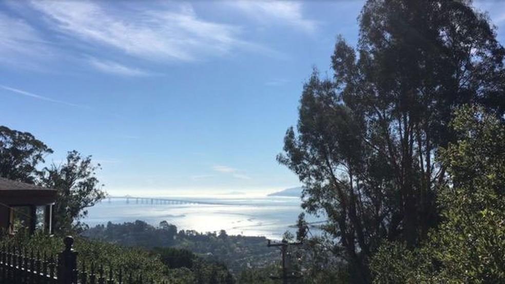 A clínica Paradigm fica de frente para a Golden Gate, principal cartão postal de San Francisco  (Foto: Ricardo Senra/BBC Brasil)
