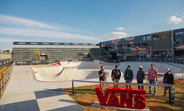 Vans Skate Park em São Paulo