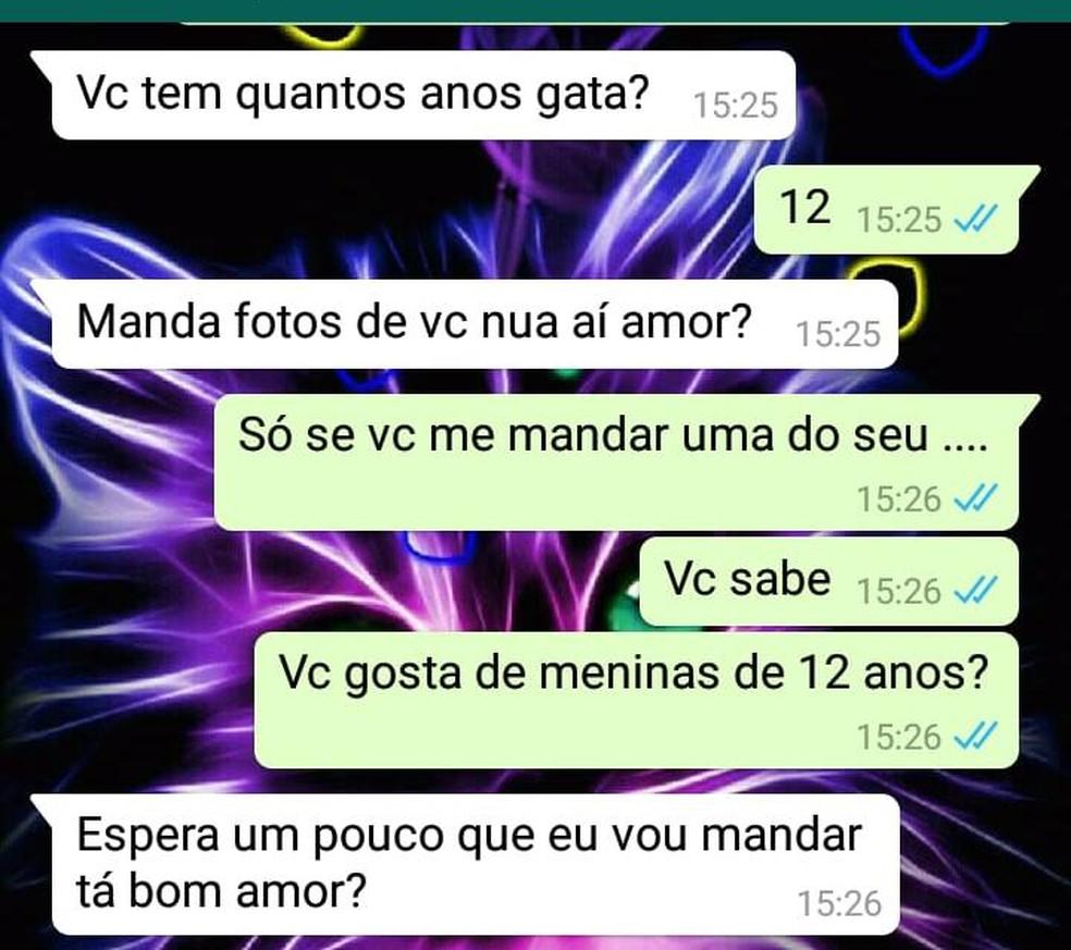 Mãe se passava por filha em conversa no WhatsApp — Foto: Divulgação/SSP-BA